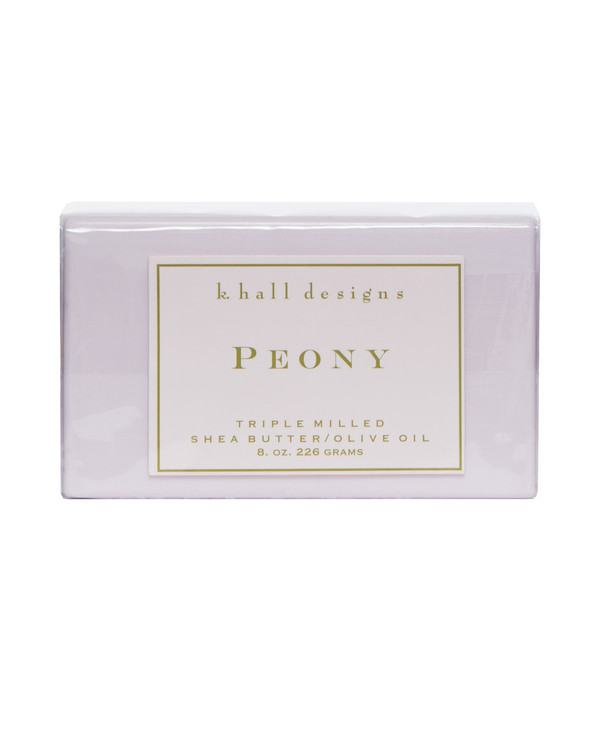 Peony Triple Milled Bar Soap