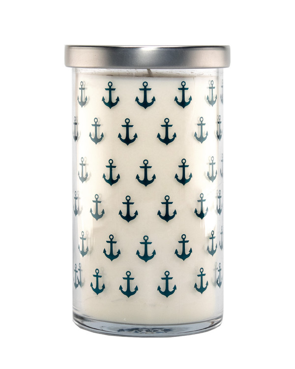 Shoreline Screen Print Candle
