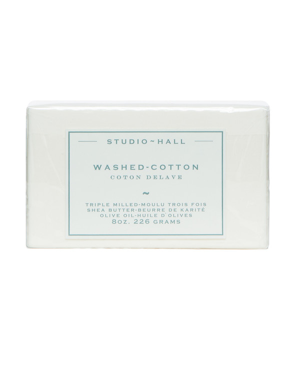 Washed Cotton Triple Milled Bar Soap