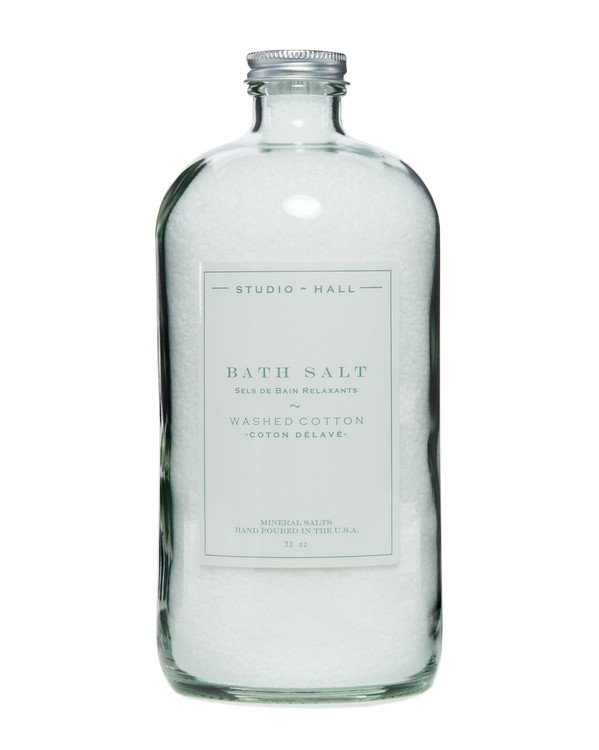Washed Cotton Bath Soak Salt