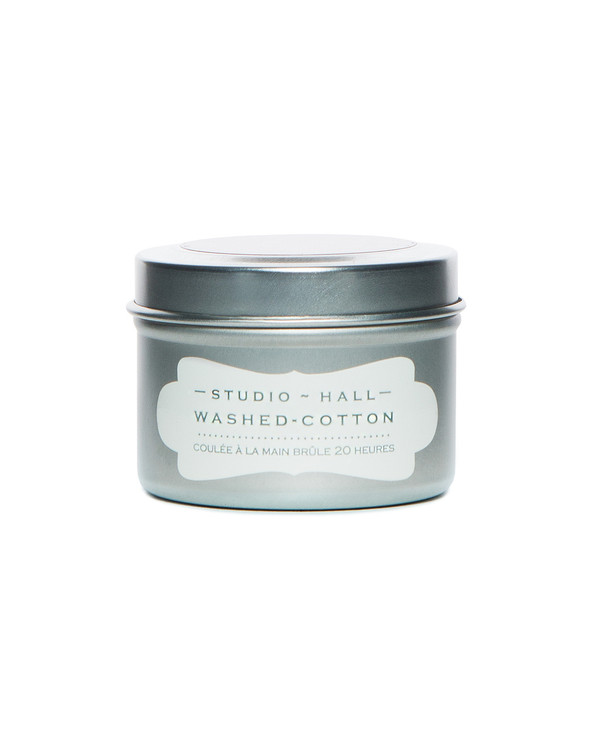 Washed Cotton Travel Candle