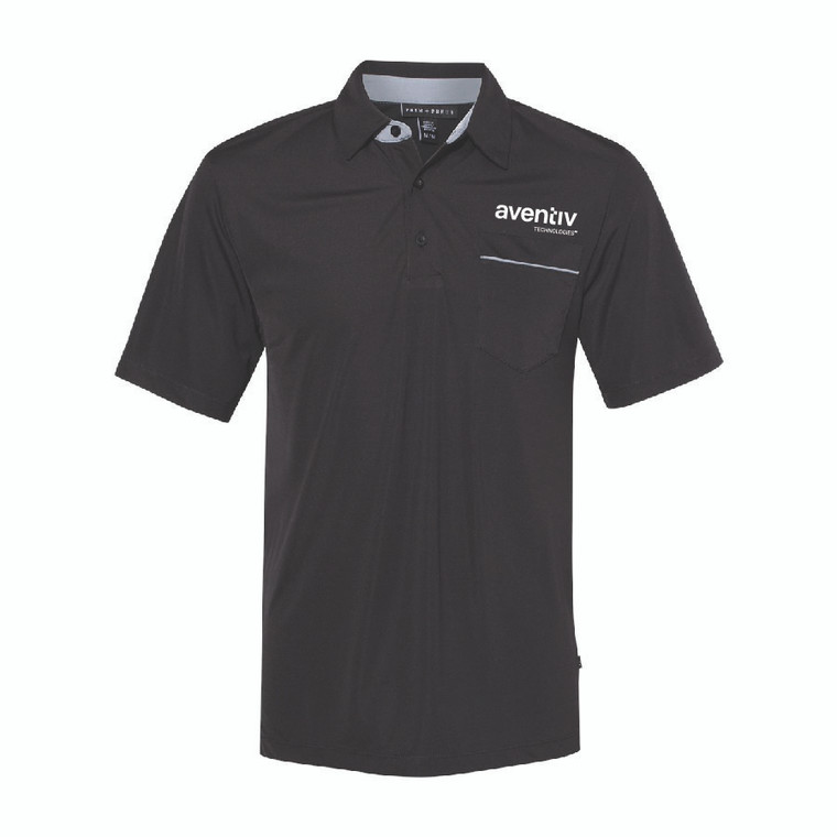 Aventiv Men's PRIM + PREUX - Dynamic Pocket Sport Shirt