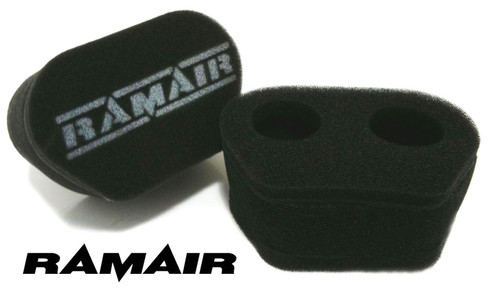 MS-016 - 2x Twin Inlet Motorcycle Carb Sock Air Filter