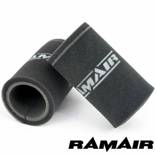 MS-001 - 2x Single Inlet Motorcycle Carb Sock Air Filter