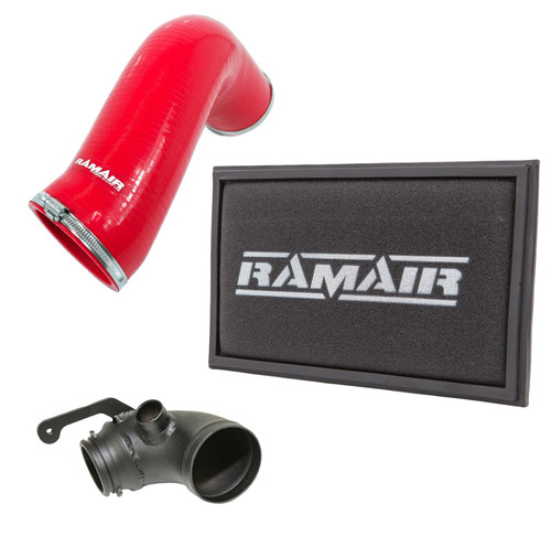 RPF-3129-RIP-RD-TI - Panel Air Filter Intake Pipe Air Hose & Turbo Elbow - A3 S3 TSI MQB