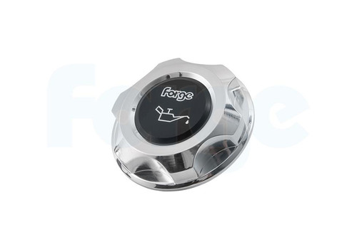 Forge Motorsport Multi-Application Alloy/Black Oil Cap