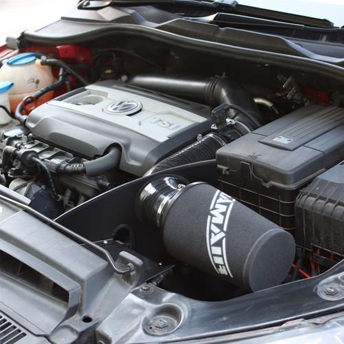 JSK-123-BK - Black  Ramair Air Filter & Heat Shield Induction Intake Kit  EA888 2.0 TSI TFSI  Audi A3 (8P), Skoda Octavia (1Z), Seat Leon (1P), VW Golf GTI (mk6), VW Scirocco