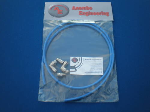 Inlet Plenum Quick Release Vacuum Fitting Kit For Cosworth YB