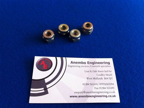 Exhaust Manifold Nuts M8 For Cosworth YB