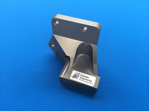 Billet Alloy All In One Alternator Drop Bracket Cosworth YB Hard Anodised Grey