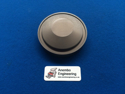 Billet Ford RS Cosworth & RS Turbo Distributor Blanking Cap Hard Anodised Grey