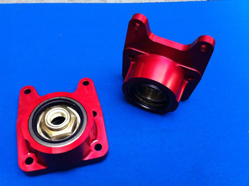 Cosworth 2wd Billet Rear Hub Carriers ,Rallycross Anodised Finish - Pair