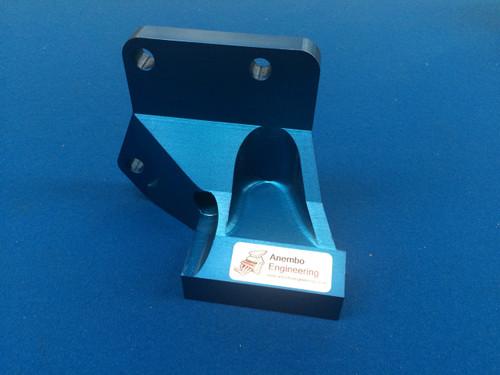 Billet Alloy All In One Alternator Drop Bracket Cosworth YB Anodised Blue