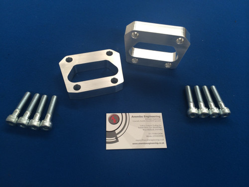 Focus RS Mk1 Billet 15mm Spacer Kit Rear Axle Handling Upgrade