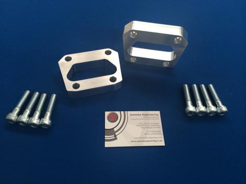 Focus RS Mk1 Billet 20mm Spacer Kit Rear Axle Handling Upgrade