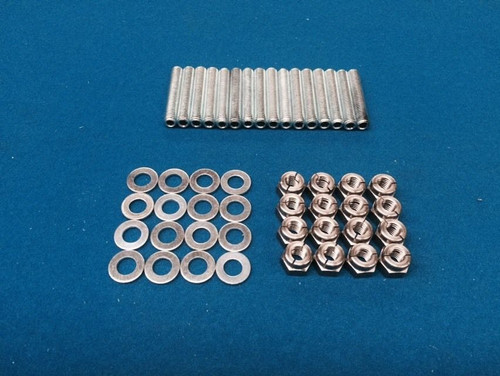 Cosworth YB Aerotight Stainless Exhaust Manifold Studs & Nuts Escort RS Sierra