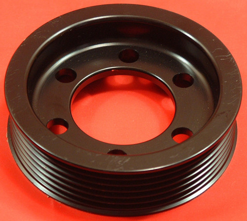 Billet alloy Vauxhall crank pulley small