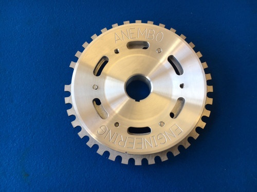 Ford CVH RS Turbo Billet Aluminium Crank Pulley With 36-1 Trigger wheel Cosworth Management