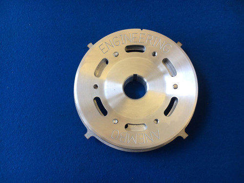 Ford CVH RS Turbo Billet Aluminium Crank Pulley With 4 Lug Trigger wheel Cosworth