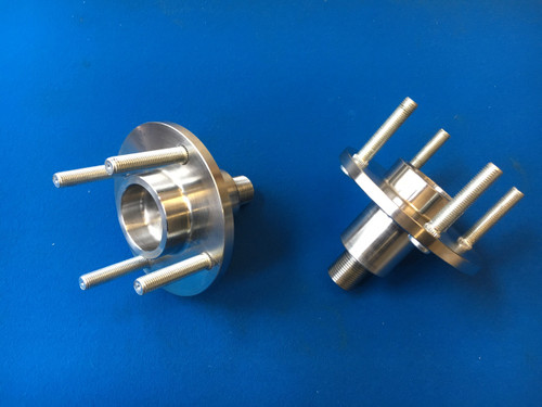 Cosworth WRC - Group A Billet Steel 2wd Front Wheel Flanges (pair-to standard wheel fitting)