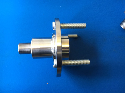 Cosworth WRC - Group A Billet Steel 2wd Front Wheel Flange (to standard wheel fitting)