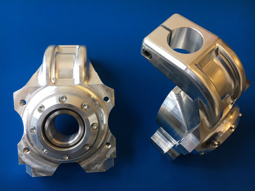 Cosworth WRC Billet Uprights With Coilover fitment - Pair (with bearings)