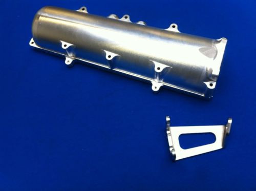 Billet Swedish Plenum and Throttle Cable Bracket for Cosworth YB (Sierra/Escort)