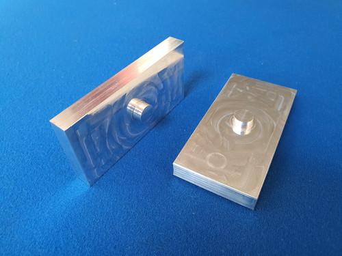 "Escort Mk1 Mk2 Billet CNC Machined Rear Leaf Spring Lowering Blocks 3/4"" Thick (19.05mm)"