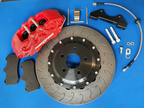 Ford Focus ST Mk2 ST225 Big Brake Kit Brake Conversion 6 Pot