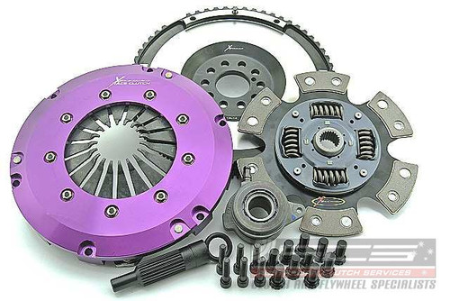 Focus ST Xtreme Performance Race Sprung Ceramic Clutch Kit Incl Flywheel & CSC