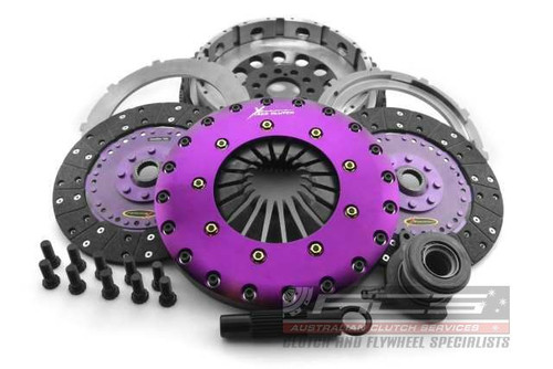 Focus ST Xtreme Performance - 230mm Organic Twin Plate Clutch Kit Incl Flywheel & CSC