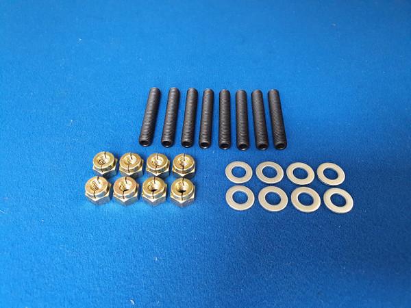 Ford Escort Fiesta RS Turbo CVH Turbo Exhaust Manifold Stud And Nut Kit (Steel)