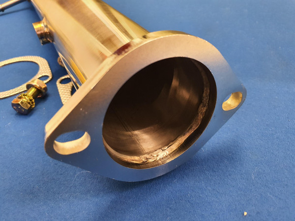 """Ford Focus ST Mk2 Decat De-cat Pipe 3"""" Stainless Steel"""