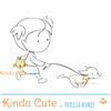 Another version included with purchase of a girl running with dog digital stamp