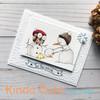 Card made by Patricia Alvarez using Snowman and Owl digital stamp.