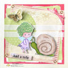 Project made by Lucienne using Fairy and snail digital stamp.