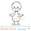 little duck digital stamp