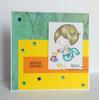 Card made by Monika using Baby mermaid playing with blocks.