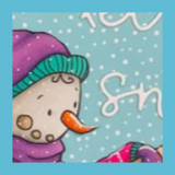 Sending Cards in the Snow | Showcasing Snowman and Mail