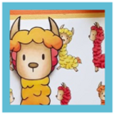Llama Llama... amazing! | Showcasing Llama digital stamp set