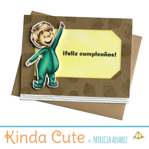 Birthday card in Spanish with a little boy. h302