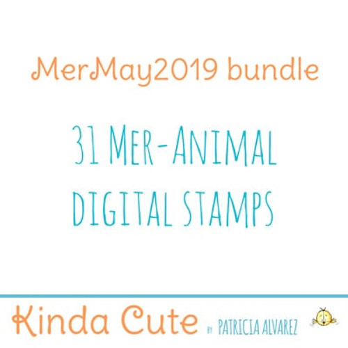 Mer-May 2019 bundle digital stamps