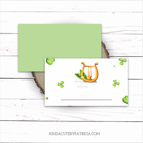 St. Patrick's day place cards