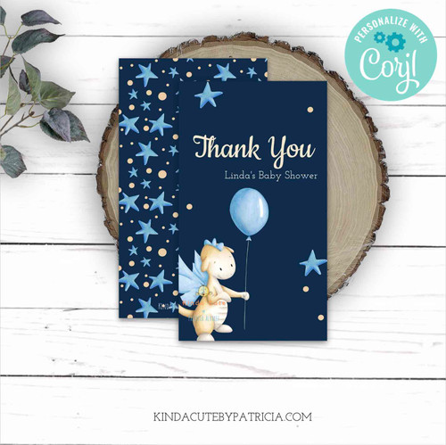 Editable Dragon Thank You tags. Printable file
