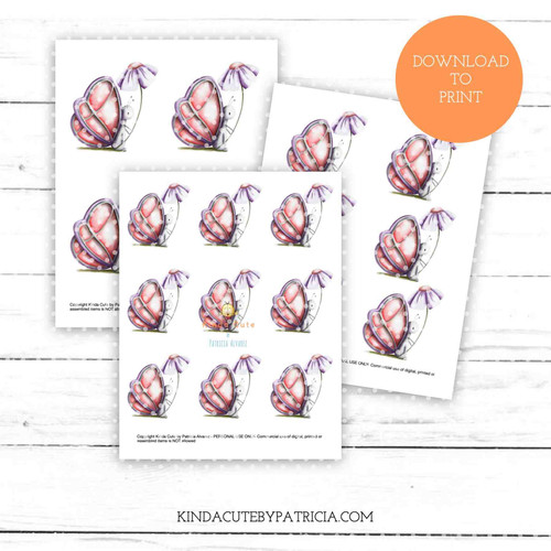 Butterfly with flower colored printable pages.