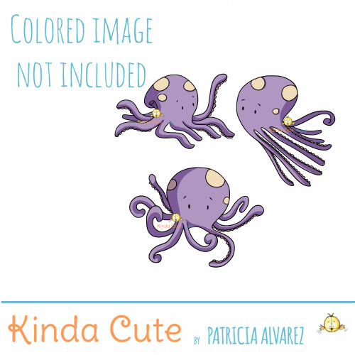 Octopus Digital Stamp Set