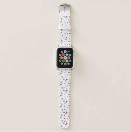 Cute Medical Equipment Nurse or Doctor Apple Watch Band