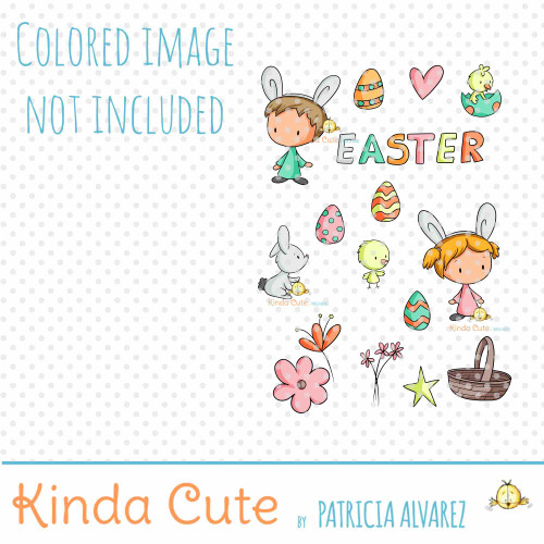 Easter Times Digital Stamp Set