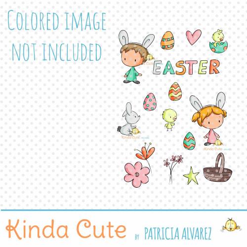 Easter Times Digital Stamp Set