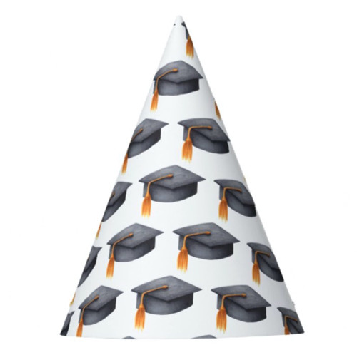 Black Graduation Cap Graduation Party Hat